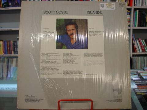 Vinil / Lp - Scott Cossu - Islands - 1987