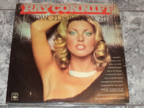 Vinil Ray Conniff - Strangers In ( Lindooo Semi - Novo )