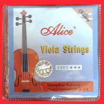 Encordoamento De Viola De Arco - Alice - Frete Grátis