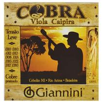 Encordoamento Viola Caipira Tensão Leve Giannini 40062