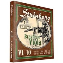 Encordoamento Strinberg Vl10 Para Viola