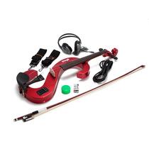 Violino Elétrico Stagg Evn4/4mrd/c +case/resina/arco/fones