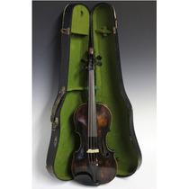 Violino Antigo - Alemão - Cabeça De Leão