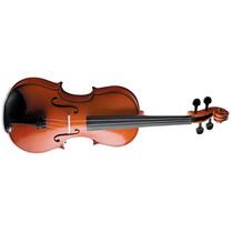 Violino Vogga Von144 4/4 Arco De Crina Animal Verniz Translú