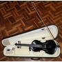 Violino De 5 Cordas - Artesanal - Arco De Crina Animal