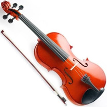Violino 4/4 Com Estojo Case Arco Breu Cavalete E Nota Fiscal