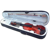 Violino Opus Acústico 4/4 C/ Arco Estojo Breu - Frete Grátis