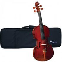Violino Clássico Artesanal 4/4 Profissional Luxo Eagle Ve441