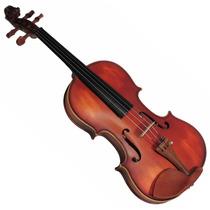 Violinos 4/4 Estojo Arco Breu Case Retan Augustini Velluto