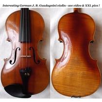 Lindo Violino Guadagnini - Alemão Com Etiqueta (video)