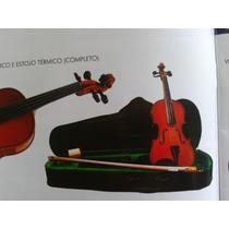 Violino Giuseppi - Gv10 Iniciante 4/4 -estojo E Arco