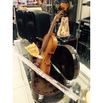 Violino Nhureson 4/4 Serie Especial Ouro Fosco Completo