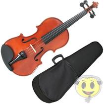 Violino 4/4 Phantom Deval C/ Estojo Case Arco Breu - Oferta