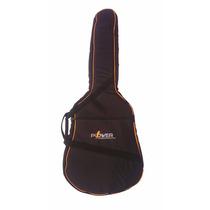 Capa Bag Power Luxo Para Violão Folk/12 Cordas