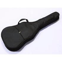 Capa Bag Para Violão Clássico Acolchoada Luxo Preta