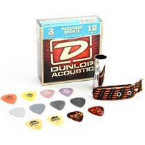 Kit Dunlop De Acessórios Para Violão Ga24