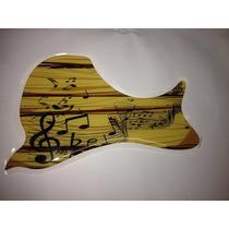 Escudo Rrp Para Violão Folk Ou Jumbo Music And Wood