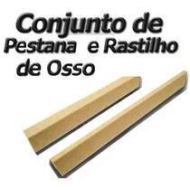Kit Rastilho Em Osso + Pestana (nut) Em Osso P/ Violão