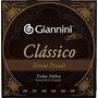 Encordoamento Giannini Náilon P/violão Clássico Tensão Pesad