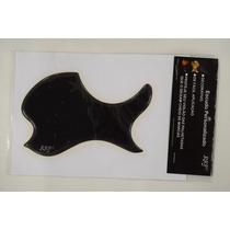Escudo Rrp Para Violão De Boca Oval Black (preto)