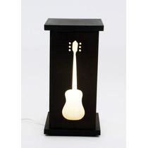 Luminária Abajur Violão Música Instrumento Musical