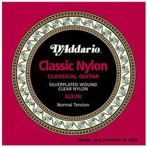Encordoamento De Violao Nylon- Daddario Ej27n-frete Grátis