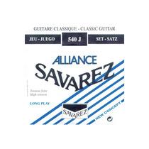 Savarez 540j Encordoamento Violão Ny Alliance Frete Grátis