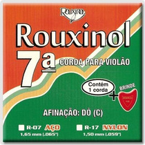 Encordoamento Violao Nylon 7 Corda Rouxinol