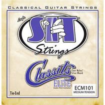 Encordoamento Violão Nylon Tensão Média Sit Strings Ecm101