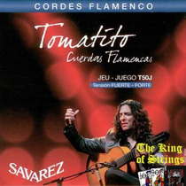 Encordoamento ( Cordas ) Para Violão Savarez Tomatito T50j