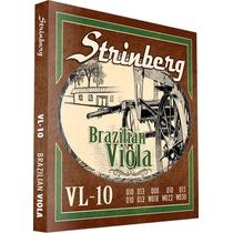 Encordoamento Strinberg Para Viola 10 Cordas Vl10