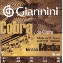 Corda Giannini P/ Viola Caipira Media Ré Niquel