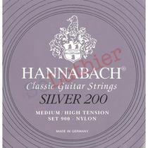 Encordoamento Hannabach Silver 200 Tensão Média Alta