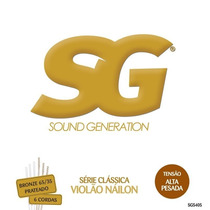 Encordoamento Sound Generation Violão Náilon Sg5405