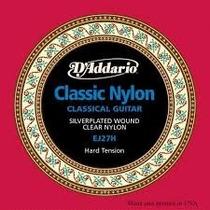 Cordas De Nylon Para Violão Clássico Tensão Alta Daddario