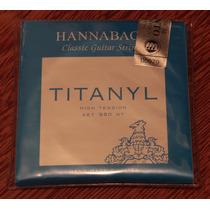 Encordoamento Hannabach Titanyl 950ht, Alta Tensão, Original