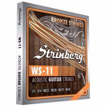 Encordoamento Strimberg Violão Aço Ws11