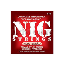 Cordas Nig Para Violão Nylon Cristal - N410 - Alta Tensão