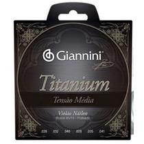 Encordoamento Giannini Nylon Titanium Tensão Média