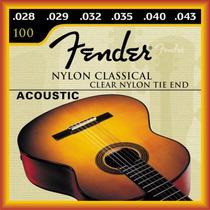 Encordoamento Fender Violão Nylon Classico
