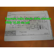 Esquema Radio Vitrola Delta Eletrola 8900 10,00 Em Pdf