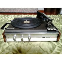 Vitrola Maleta Philips 447 Estéreo