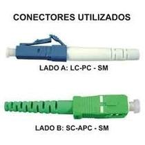 Cordão Óptico Lc/pc-sc/apc-sm-2mm-10metros Super Oferta