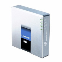 Adaptador Linksys Cisco Spa2102 Roteador Voip 2 Portas Fxs