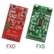 Modulo Fxo Fxs Para Tdm400 Tdm410 Tdm 400 Tdm410 Aex 410