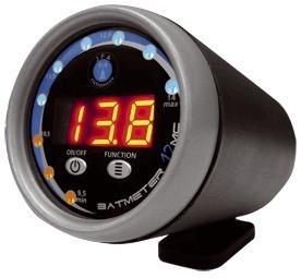 Voltímetro Jfa Bat Meter Medidor De Bateria Automotivo Som