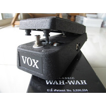 Vox Wah Wah Classic V845 Cry Baby Dunlop Morley