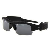 Óculos De Sol Espião C/ Câmera Sport E Microfone Leadership