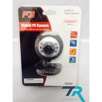 Web Cam Usb 16mp 16000k Alta Definição C/ Microfone (125)