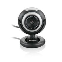 Webcam New Vision C/ Microfone Multilaser Wc044